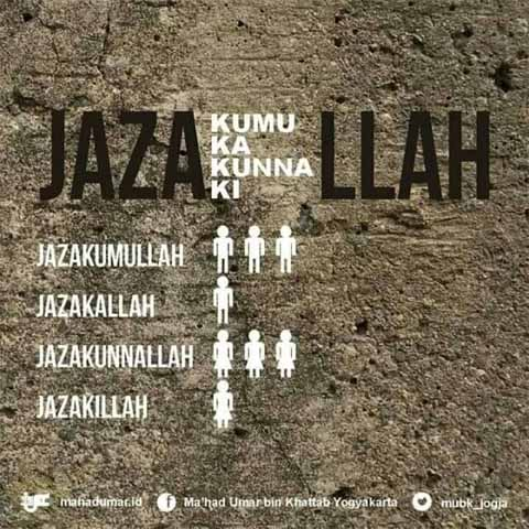 Arti Jazakallahu Khairan Jazakumullahu Khairan Dan Jawabannya Terlengkap Salamadian
