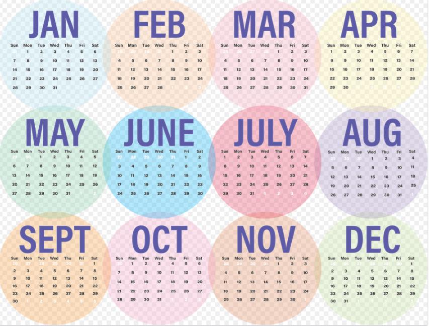 cara menulis tanggal dalam bahasa inggris